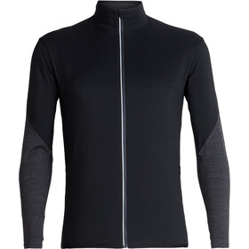 Icebreaker Tech Trainer Hybrid Jacket Herre black/jet heather